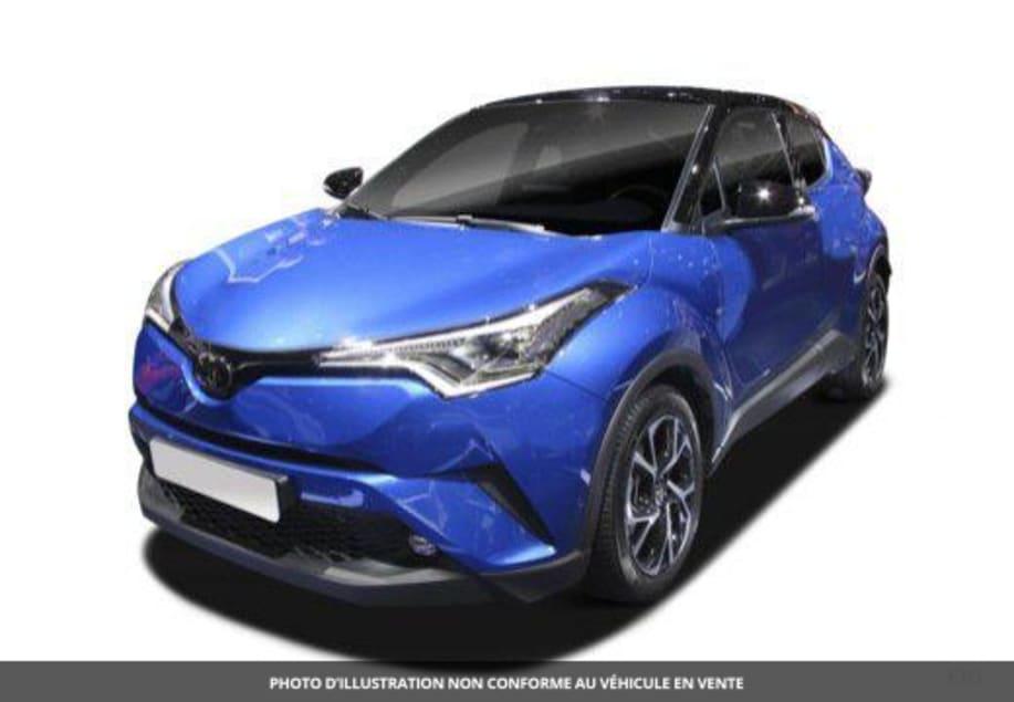 Toyota C-HR HYBRIDE MC19 NOUVEAU 2.0L 184CH EDITION Gris Atlas Métallisé Avec Toit Noir
