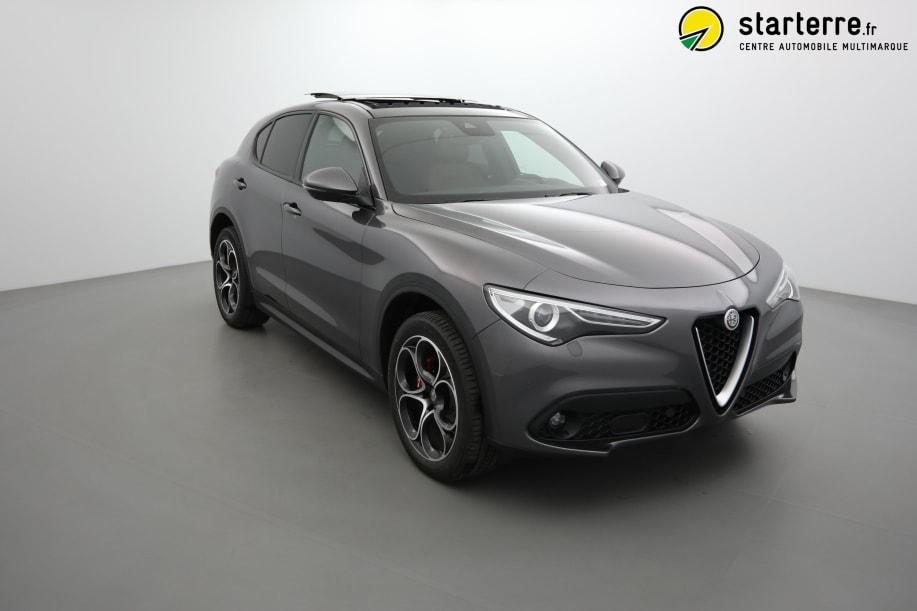 Alfa Romeo STELVIO MY19 2.2 210 CH Q4 AT8 SPORT EDITION Gris Vesuvio