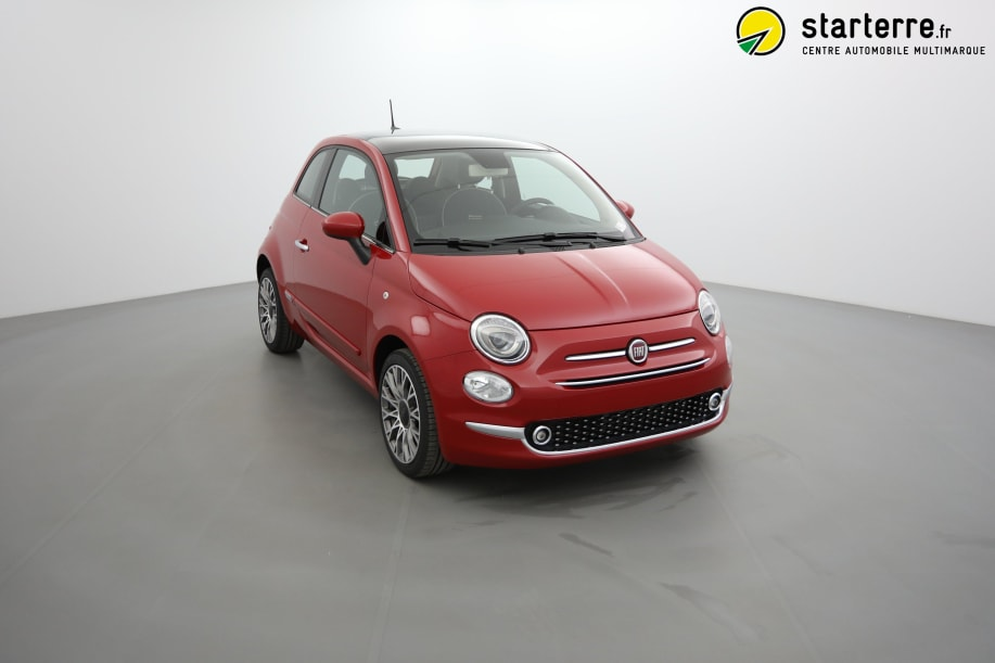 Fiat 500 SERIE 6 1.2 69 CH  DUALOGIC  S&S LOUNGE Pasodoble Red