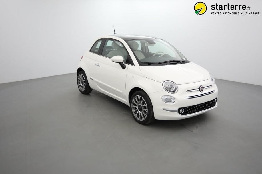 Fiat 500 SERIE 6 1.2 69 CH  DUALOGIC  S&S LOUNGE Bossa Nova White