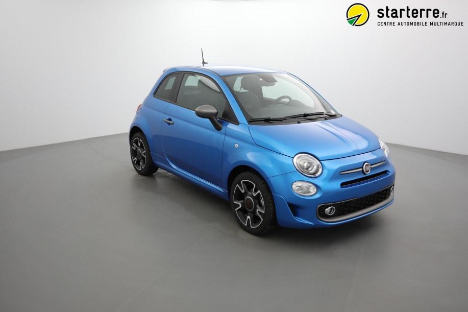 Fiat 500 SERIE 6 1.2 69 CH DUALOGIC S&S S Italia Blue