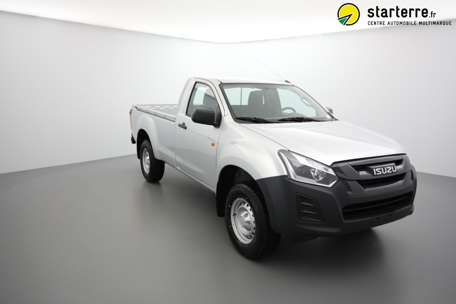 Isuzu D-MAX 1.9 4X4 SINGLE CAB SATELLITE CLIM MY19 TITANIUM SILVER