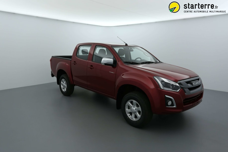 Isuzu D-MAX 1.9 4X4 CREW CAB PLANET country MY18 Red Spinel Mica