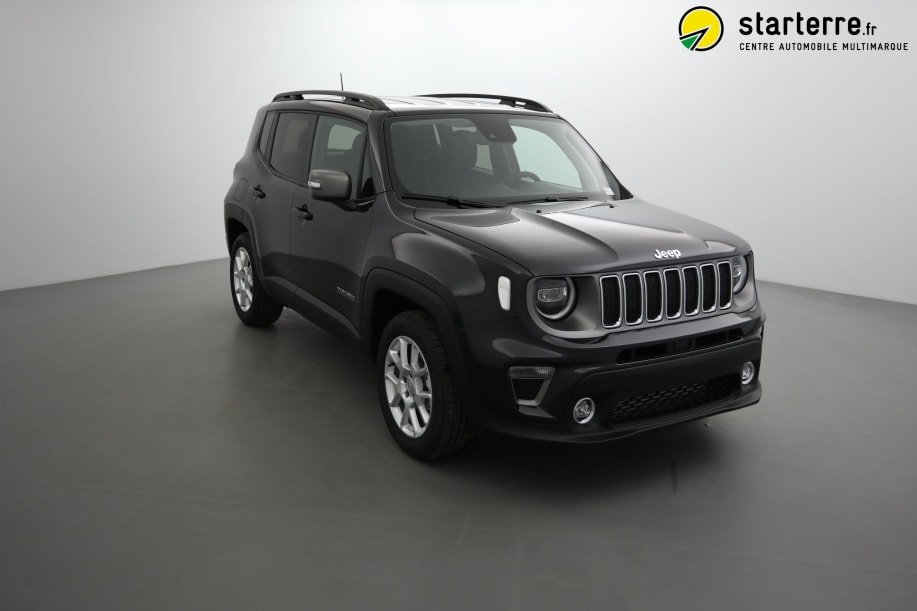 Jeep RENEGADE MY19 1.6 L MULTIJET 120 CH BVR6 LIMITED Carbon Black Métallisé