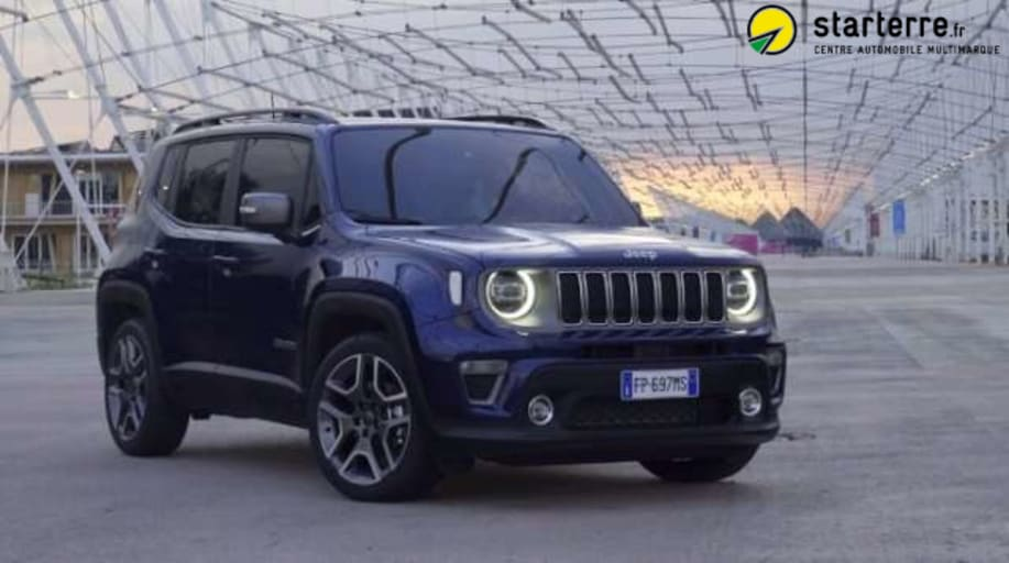 Jeep RENEGADE MY19 1.3 GSE T4 150 CH BVR6 LIMITED Alpine White