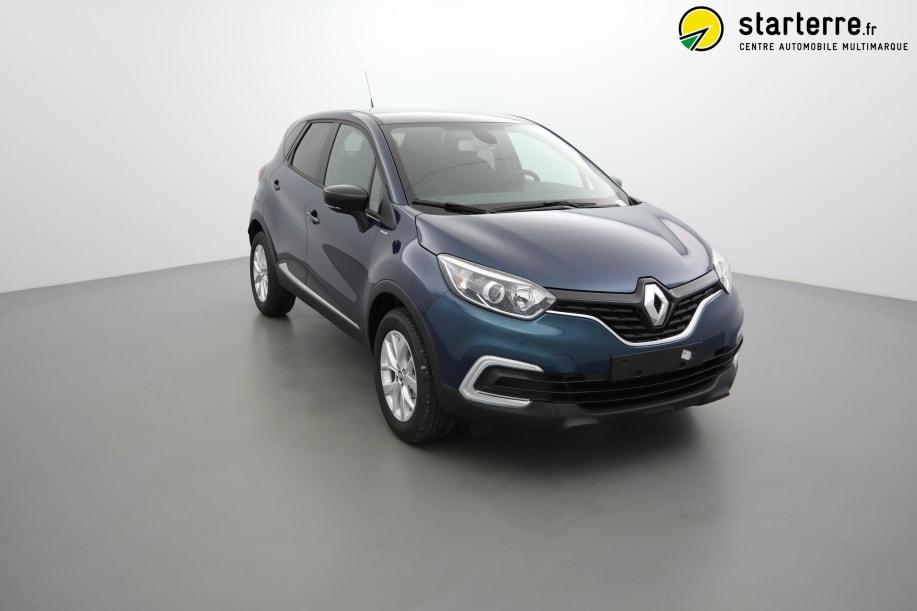 Renault Captur TCE 90 ZEN Bleu Océan