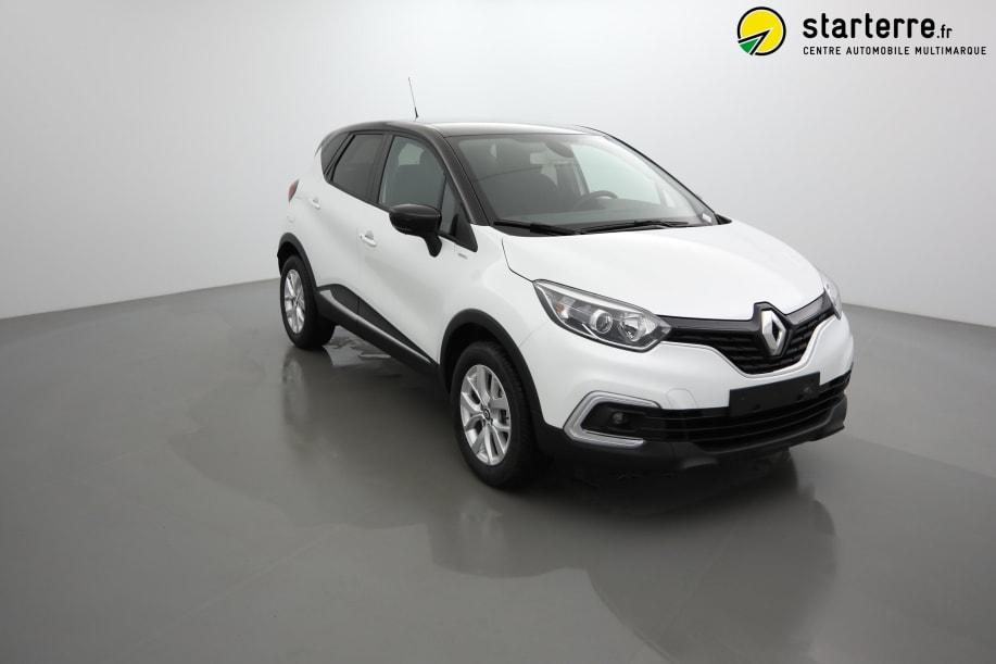 Renault Captur TCE 130 FAP ZEN LIMITED Blanc Nacré Toit Noir
