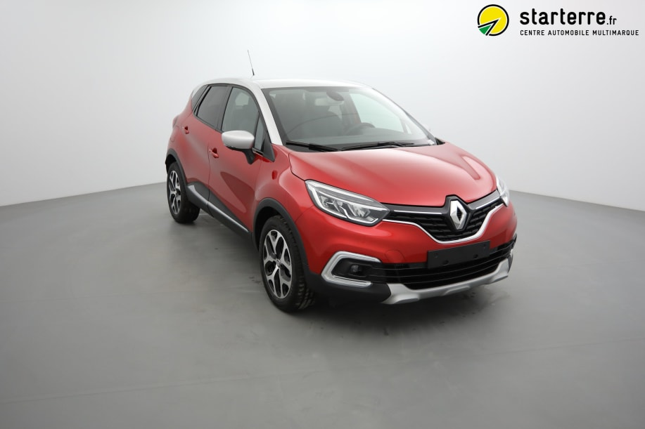 Renault Captur DCI 90 EDC INTENS Rouge Flamme Toit Gris Platine