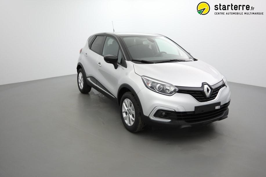 Renault Captur TCE 130 FAP ZEN LIMITED Gris Platine Toit Noir