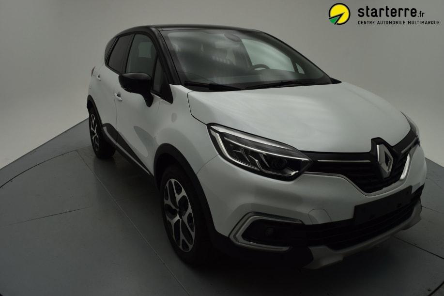 Renault Captur TCE 90 INTENS Blanc Nacré Toit Noir