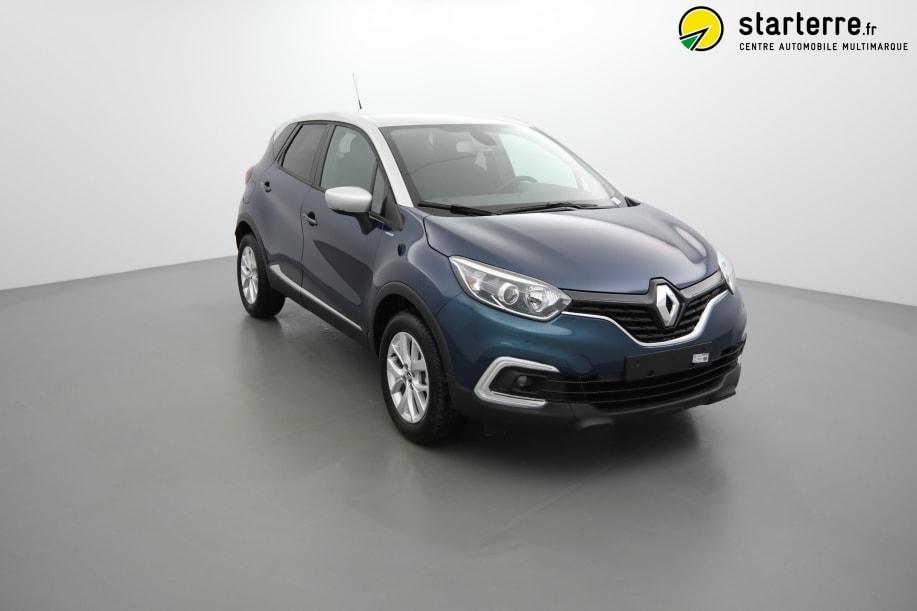 Renault Captur TCE 130 FAP ZEN LIMITED Bleu Océan Toit Gris Platine