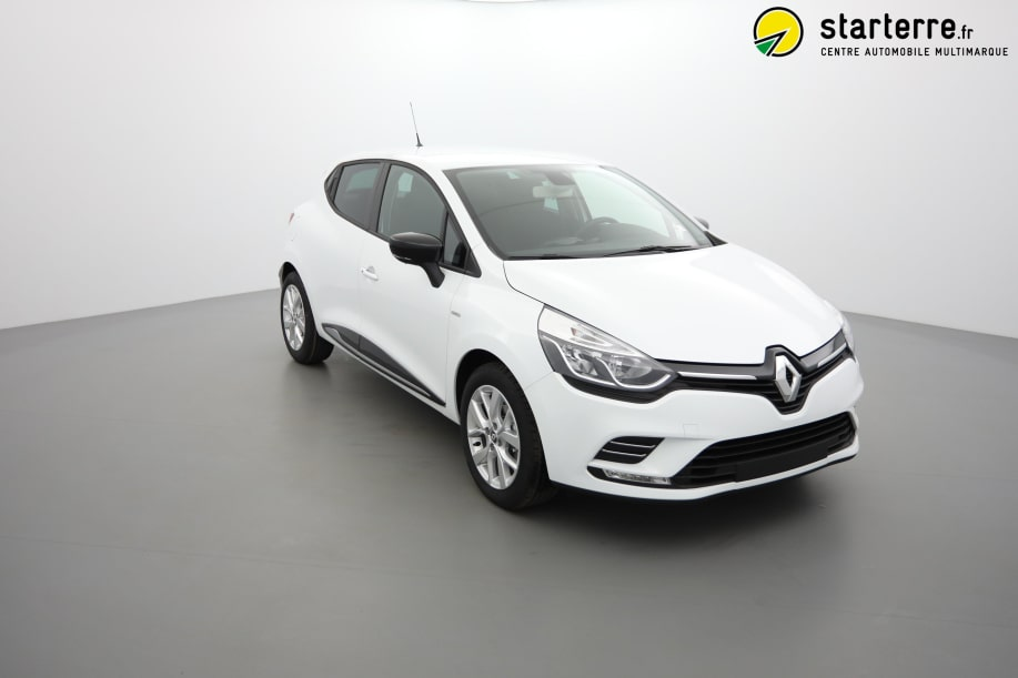 Renault CLIO IV TCe 90 Limited Blanc Glacier