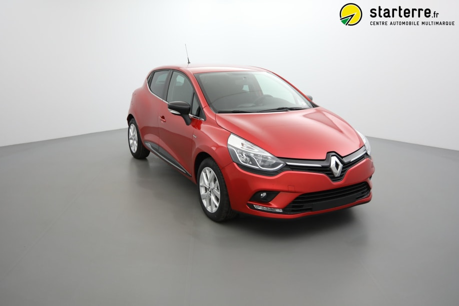 Renault CLIO IV DCI 90 LIMITED Rouge Flamme