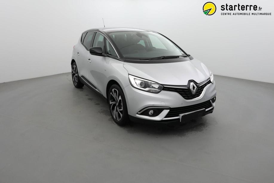 Renault Scenic IV TCE 140 FAP EDC INTENS Gris Platine Toit Noir