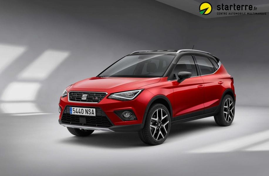 Seat Arona 1.0 EcoTSI 115 ch Start/Stop DSG7 FR Gris Magnétique / Toit Noir Minuit