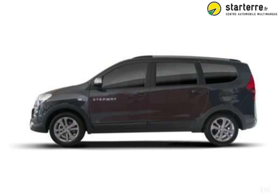 dacia lodgy blue dci 115 7 places stepway 159190 starterre. Black Bedroom Furniture Sets. Home Design Ideas