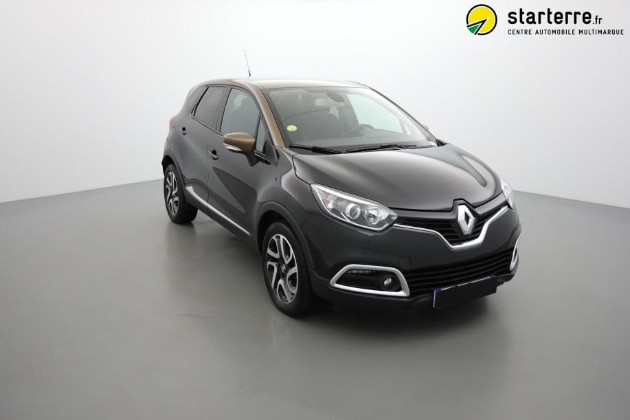 Renault Captur dCi 90 Energy eco² Intens Noir Etoile Toit Brun Cappuccino