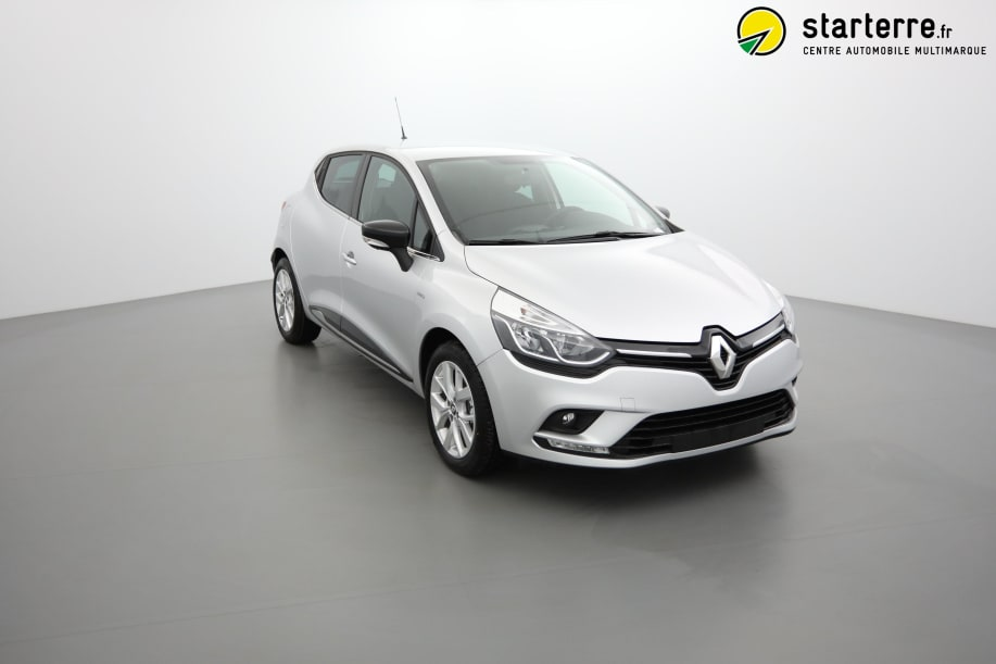 Renault CLIO IV DCI 90 LIMITED Gris Platine