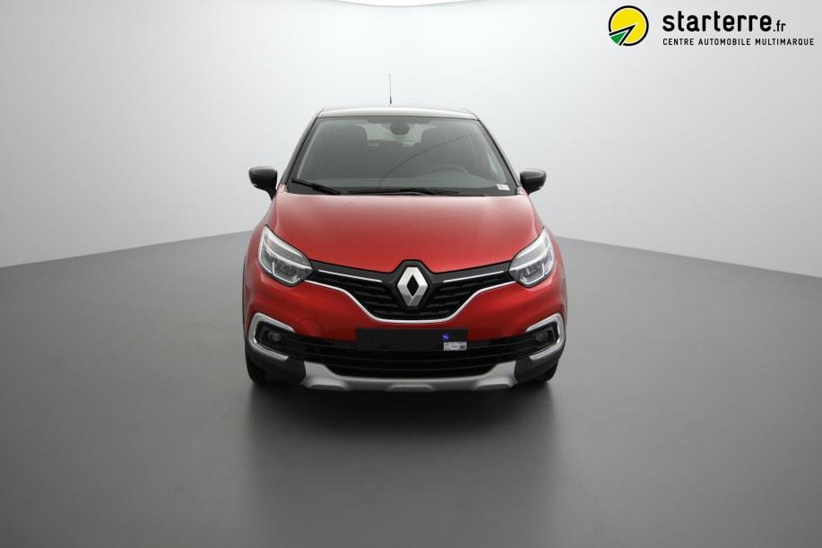 Renault Captur TCE 90 INTENS Rouge Flamme Toit Noir Etoilé