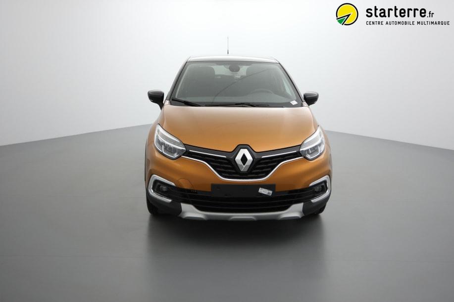 Renault Captur TCE 90 INTENS Orange Atacama Toit Noir