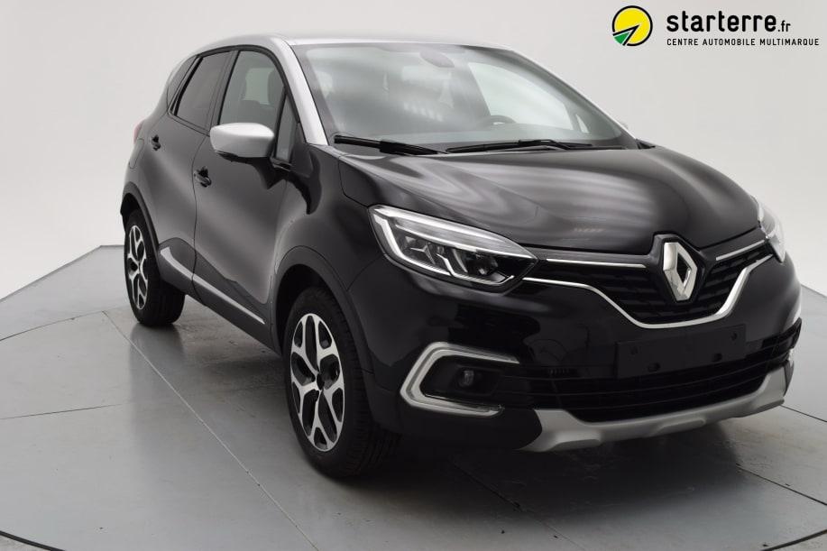 Renault Captur TCE 90 INTENS Noir Toit Gris Platine
