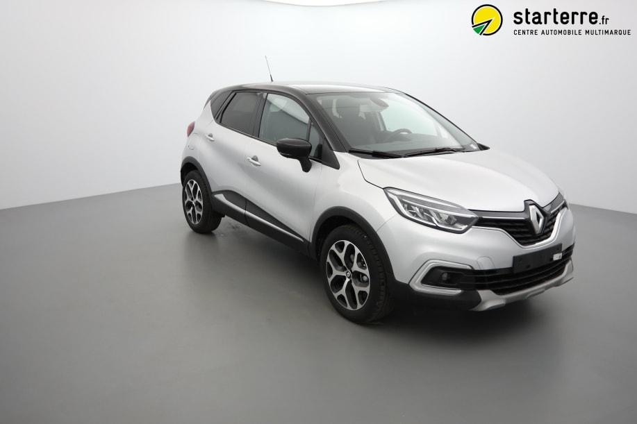 Renault Captur TCE 90 INTENS Gris Platine Toit Noir