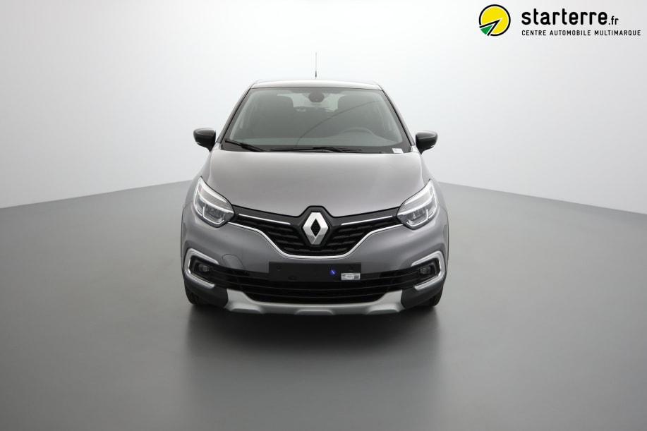 Renault Captur TCE 90 INTENS Gris Cassiopée Toit Noir