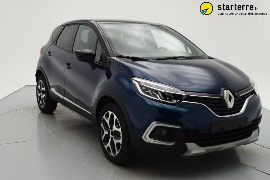 Renault Captur TCE 90 INTENS Bleu Océan Toit Noir