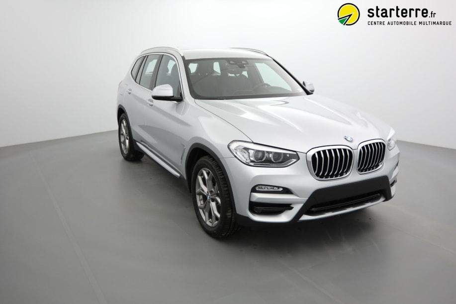 BMW X3 G01 X3 xDrive20d 190ch BVA8 xLine Glaciersilber