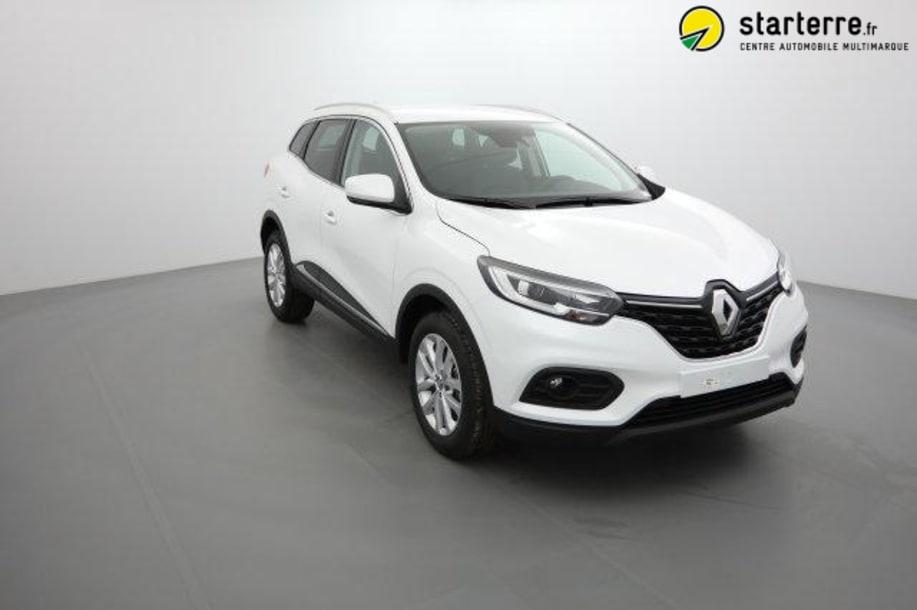 Renault Kadjar Nouveau TCE 140 FAP EDC BUSINESS Blanc Nacré