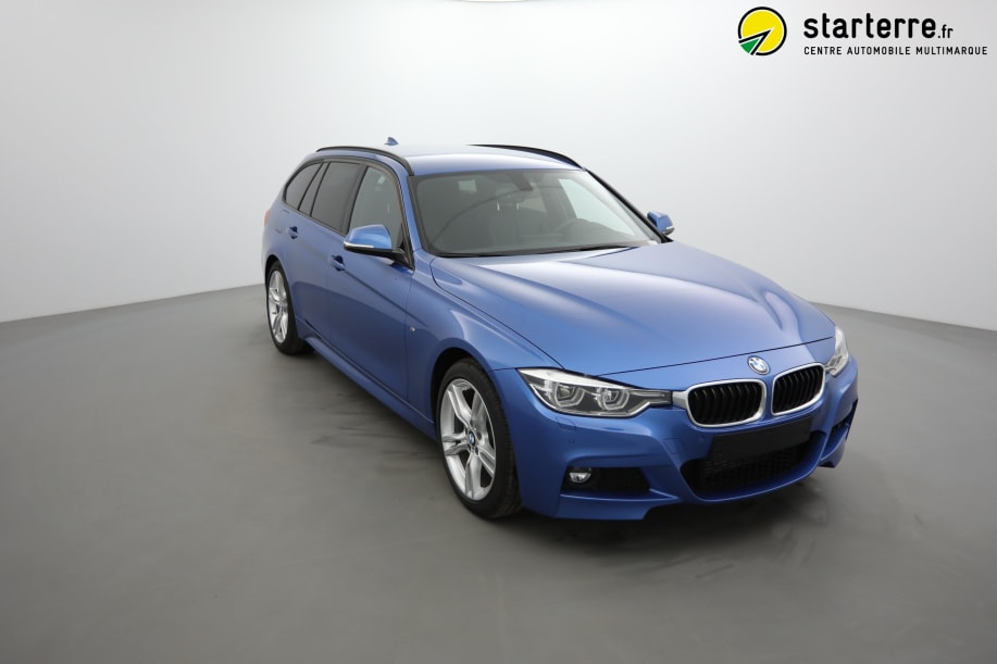 BMW Serie 3 Touring F31 LCI2 320D 190 CH BVA8 M SPORT Estoril Blau
