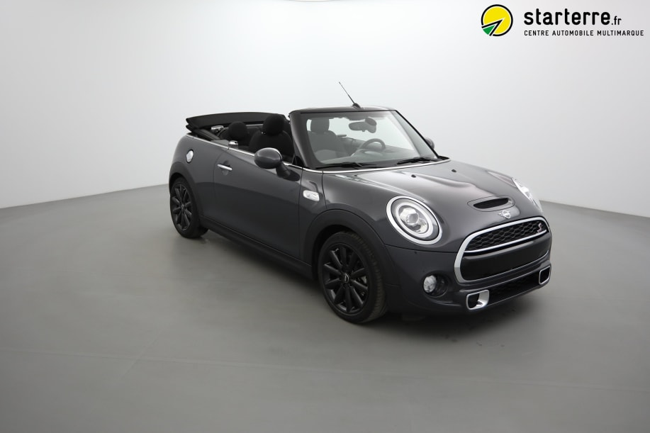 Mini MINI Cabriolet F57 LCI Mini Cabriolet Cooper S 192 ch BVA7 Finition Exquisite Thunder Grey Metallic