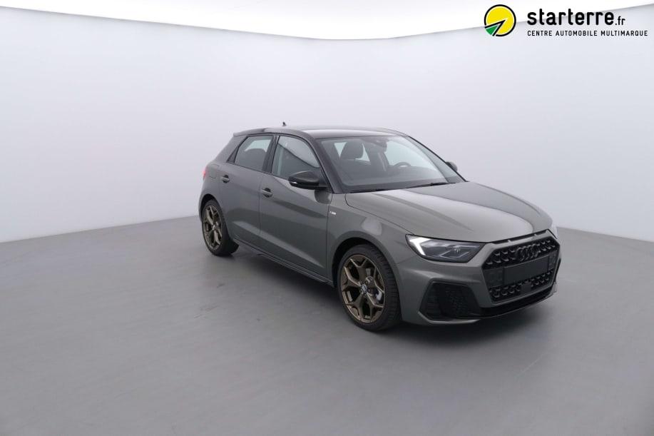 Audi A1 SPORTBACK NOUVELLE 30 TFSI 116 CH BVM6 S LINE Gris Cronos / Toit Noir Mythic
