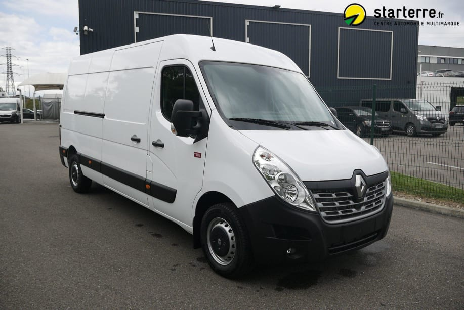 Renault Master Fourgon L3H2 3.5T 2.3 DCI 170 ENERGY E6 BVR GRAND CONFORT Blanc Minéral