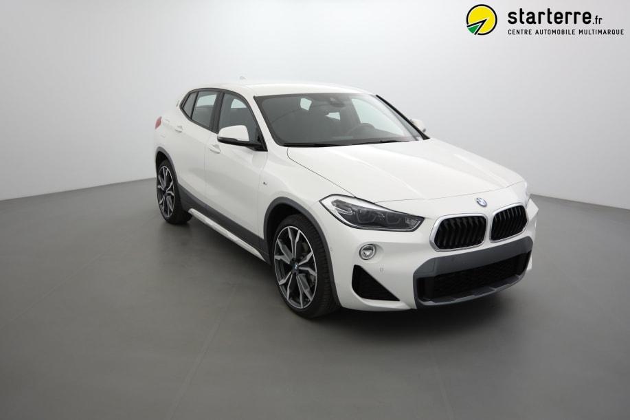 BMW X2 F39 X2 sDrive 18d 150 ch BVA8 M Sport X Alpinweiss