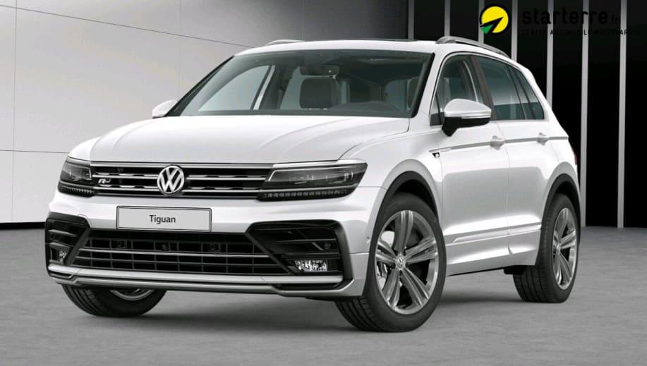 Volkswagen Tiguan 2.0 TDI 150 DSG7 4Motion Carat Blanc Pur