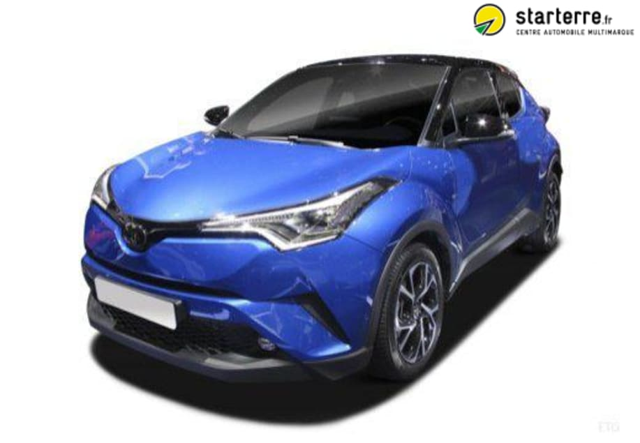 Toyota C-HR HYBRIDE MC19 NOUVEAU 2.0L 184CH EDITION Gris Célestine Métallisé Toit Noir