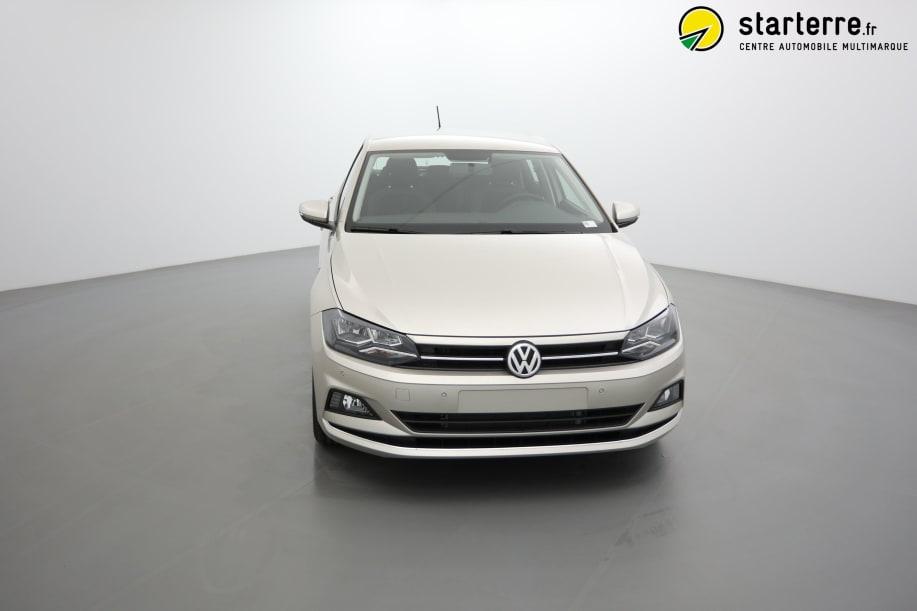 Volkswagen POLO NOUVELLE 1.0 TSI 95 S&S DSG7 CONFORTLINE Gris Ivoire