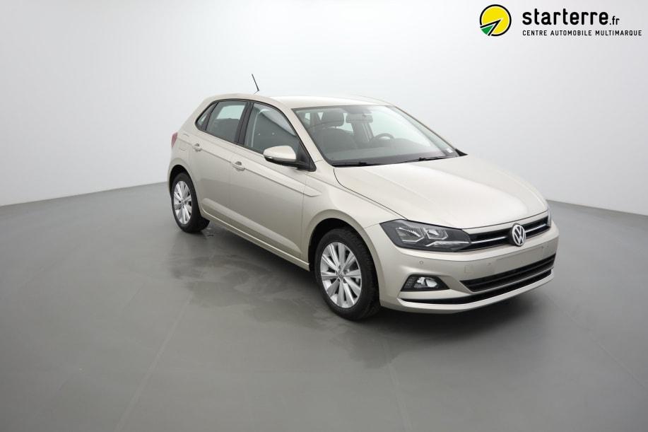 Volkswagen POLO NOUVELLE 1.0 TSI 95 S&S CONFORTLINE Gris Ivoire