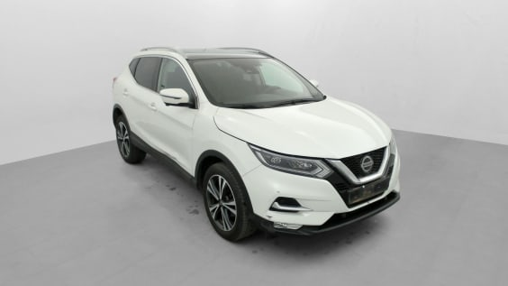 Nissan QASHQAI 1.2 DIG-T 115  Xtronic N-Connecta Blanc Lunaire