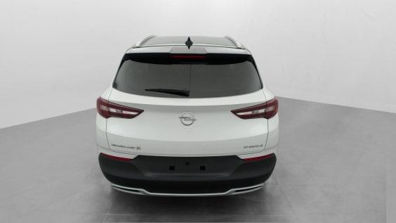 Opel Grandland X Hybrid4 300 ch AWD BVA8 Ultimate Blanc Perle Toit Noir