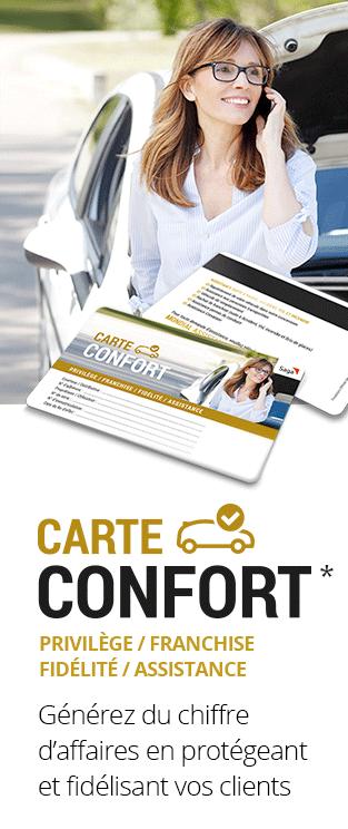 carte confort